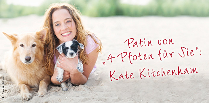 aktuelles kate kitchenham übernimmt patenschaft für 4 pfoten für ...